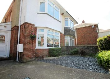 Thumbnail 3 bed semi-detached house for sale in Strouden Road, Winton, Bournemouth