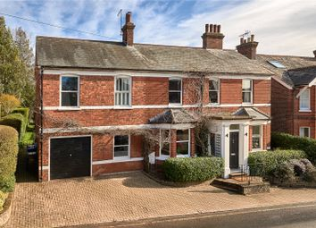 Thumbnail 4 bed detached house for sale in Crondall Lane, Farnham, Surrey