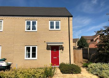 Thumbnail 3 bed end terrace house for sale in Caulder Close, Spalding