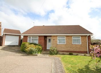 Thumbnail 3 bed detached bungalow for sale in Noel Close, Hopton, Great Yarmouth