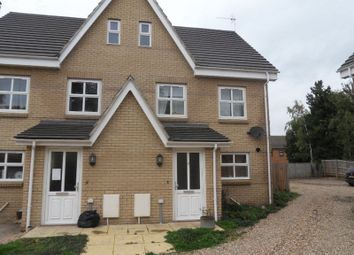 Thumbnail 3 bed semi-detached house to rent in Hodson Close, Soham, Ely