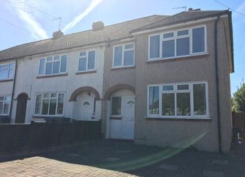 Thumbnail 3 bed end terrace house for sale in Devon Way, Chessington, Surrey