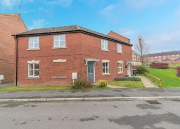 Thumbnail 3 bedroom semi-detached house for sale in Brompton Road, Leicester