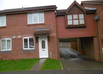 Thumbnail 2 bed town house to rent in Victoria Close, Whitwick, Coalville