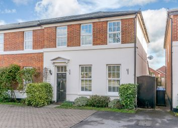 Thumbnail 2 bed town house for sale in Murray Road, Ottershaw, Chertsey