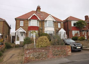 Thumbnail 3 bed semi-detached house for sale in Downs Road, Ramsgate