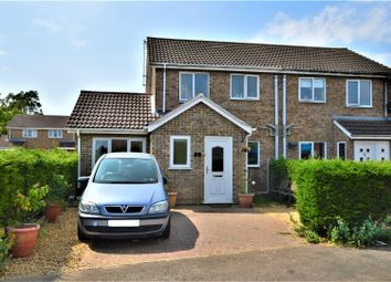 Thumbnail 3 bed semi-detached house for sale in Ash Place, Stamford