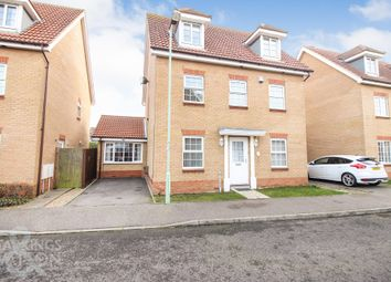 Thumbnail 5 bed detached house for sale in Deepdale, Carlton Colville, Lowestoft