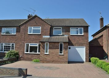 Thumbnail 4 bed semi-detached house for sale in Rochford Road, Bishop's Stortford
