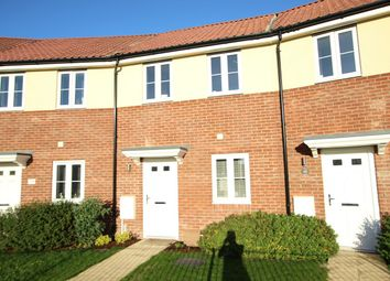 Thumbnail 2 bed terraced house for sale in River Way, Gt Blakenham, Ipswich, Suffolk