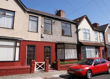 Thumbnail 3 bed terraced house to rent in Woodgreen Road, Old Swan, Liverpool