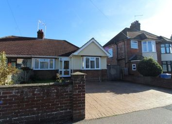 Thumbnail 2 bed semi-detached bungalow for sale in Ashcroft Road, Ipswich