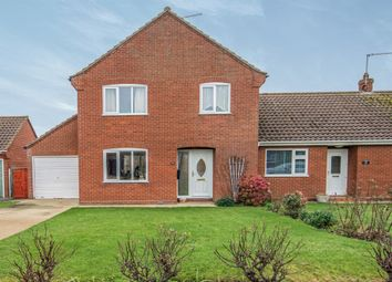 Thumbnail 3 bed semi-detached house for sale in Bromholme Close, Bacton, Norwich