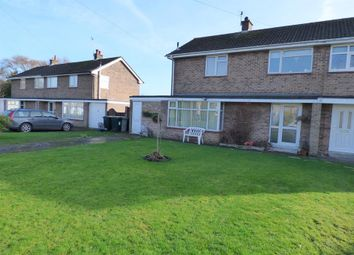 Thumbnail 3 bed semi-detached house for sale in Harewood Crescent, Louth