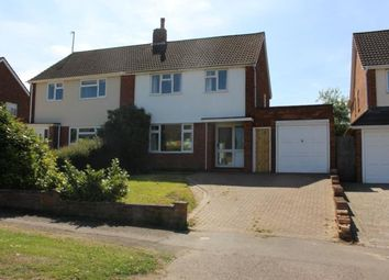 Thumbnail 3 bed semi-detached house to rent in Rowallan Drive, Bedford