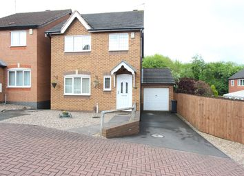 Thumbnail 3 bed detached house for sale in Parham Close, Leicester