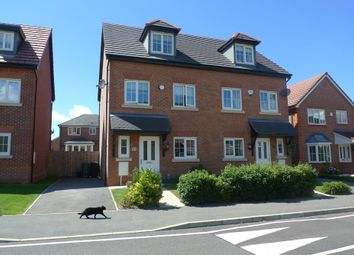 Thumbnail 4 bed town house to rent in Clos Belyn, Llandudno Junction