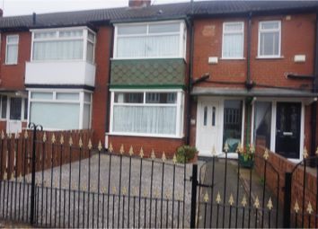 Thumbnail 3 bedroom terraced house for sale in Springfield Road, Hull