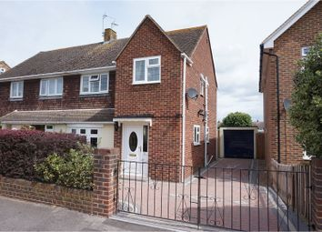 Thumbnail 3 bedroom semi-detached house for sale in Elm Walk, Aylesford