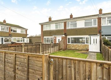 Thumbnail 3 bed terraced house for sale in Downview Close, East Wittering