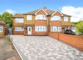 Thumbnail 4 bed semi-detached house for sale in Stanhope Way, Stanwell, Staines-Upon-Thames, Surrey