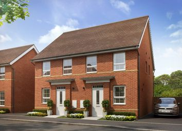 "Thumbnail 2 bed semi-detached house for sale in ""Tiverton"" at Tiverton Road, Cullompton"