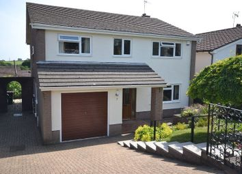 Thumbnail 4 bed detached house to rent in Pant Glas Court, Bassaleg, Newport