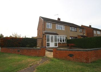 Thumbnail 3 bedroom semi-detached house for sale in Rawley Crescent, Duston, Northampton