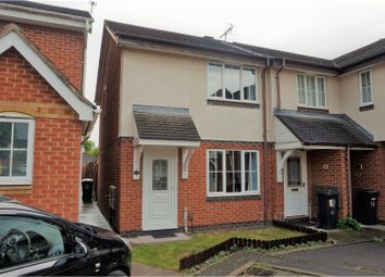 Thumbnail 2 bedroom town house for sale in Firestone Close, Leicester