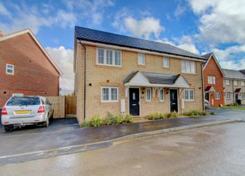 Thumbnail 3 bed semi-detached house for sale in Davy Drive, Shefford