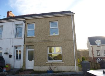 3 bed semi-detached house for sale in Wernoleu Road, Ammanford, Carmarthenshire. SA18