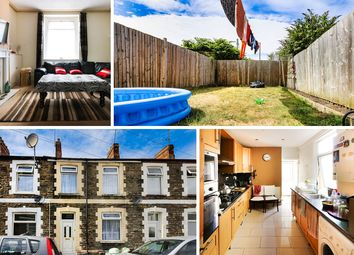 Thumbnail 3 bedroom terraced house for sale in Railway Street, Splott, Cardiff