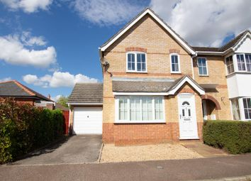 Thumbnail 3 bed semi-detached house for sale in Kitson Gardens, Stretham, Ely