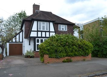 Thumbnail 4 bed detached house for sale in Worple Road, Epsom