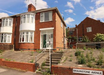 Thumbnail 3 bed semi-detached house for sale in Braunstone Avenue, West End