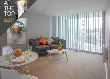 Thumbnail 1 bed flat to rent in Apartment 164, Velocity Tower, St. Mary's Gate, Sheffield