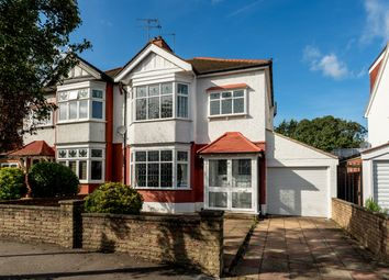 Thumbnail 3 bed semi-detached house for sale in Sherwood Avenue, London
