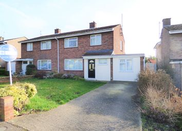 Thumbnail 4 bed semi-detached house for sale in Haylands Way, Bedford