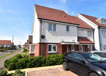 Thumbnail 3 bedroom end terrace house for sale in Buttermere Close, Waterside At The Bridge, Dartford, Kent