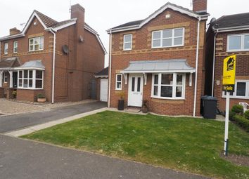 Thumbnail 3 bed detached house for sale in Helm Drive, Victoria Dock, Hull