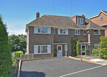 Thumbnail 3 bed semi-detached house for sale in Copse Hill, Westdene, East Sussex