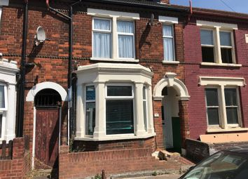 Thumbnail 3 bed terraced house to rent in Ombersley Road, Kempston