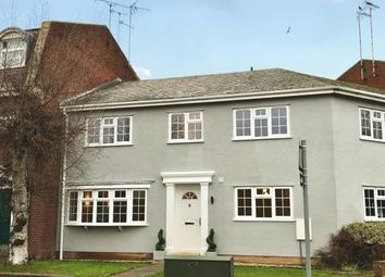 Thumbnail 3 bed terraced house for sale in The Crescent, Stretton Road, Great Glen, Leicester
