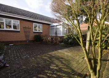 Thumbnail 3 bedroom detached bungalow for sale in Chater Close, Off Scraptoft Lane, Leicester