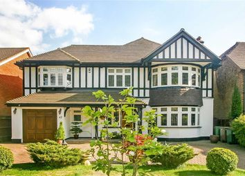 Thumbnail 4 bedroom detached house for sale in Great Woodcote Park, Purley, Surrey