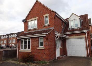 Thumbnail 3 bed detached house to rent in Maurice Raes Close, Norwich