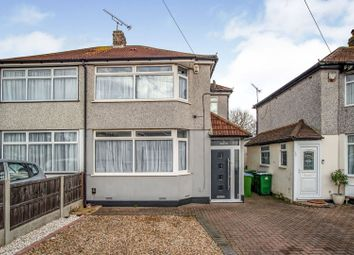 Thumbnail 3 bedroom semi-detached house for sale in Merlin Road, Welling
