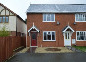 Thumbnail 2 bedroom end terrace house to rent in 7, Llys Melyn, Tregynon, Newtown, Powys