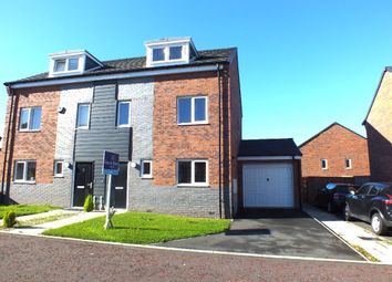 Thumbnail 3 bedroom semi-detached house for sale in Friars Way, Newcastle Upon Tyne