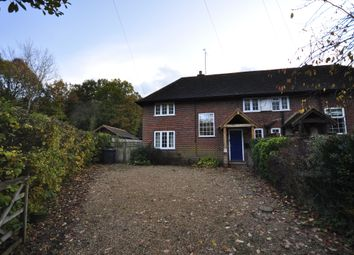 Thumbnail 3 bedroom semi-detached house to rent in Nutbourne Cottages, Roundals Lane, Hambledon, Surrey